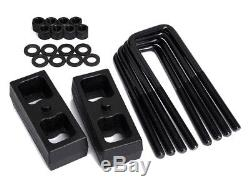 01-06 Chevy Silverado GMC Sierra 1500HD 3 Fr + 2 Rr Lift Kit + Pro Comp Shocks