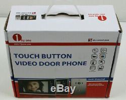 1byone Video Door Phone Intercom System Doorbell Kit 2-Wire Easy Installation