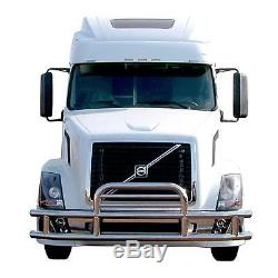 1xFront Protector Grill Bumper Deer Guard FOR 2008-2017 Freightliner Cascadia