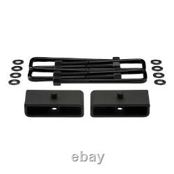 2.5 Front + 1.5 Rear Lift Kit For 2003-2018 Chevy Express GMC Savana AWD