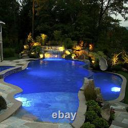 2 x Extremely Bright Swimming Pool RGB LED Light RGB Controller+Power Kit+Cable