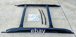 2010-2016 Chevrolet Equinox GMC Terrain OEM Roof Luggage Rack Black Complete Kit