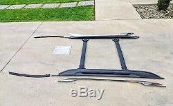 2010-2016 Chevrolet Equinox Terrain OEM Roof Luggage Rack with Bars Chrome Trim
