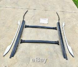 2010-2016 Chevrolet Equinox Terrain OEM Roof Luggage Rack with Bars Chrome Trim