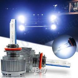 2x Super Bright H8 H11 8000K Ice Blue HID Hi/Low Beam Headlights Conversion Kit