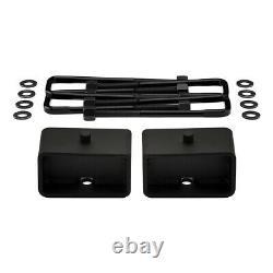 3 Full Lift Kit + UCA Bump Stop For 2005-2020 Nissan Frontier Steel Lift Kit