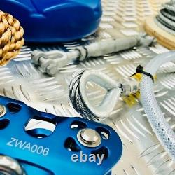 30 M Heavy Duty High Speed Zip Wire Kit Compete Package Easy To Install Uk Made