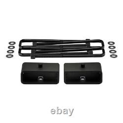 3F + 2R Lift For 2005-2020 Nissan Frontier Steel PRO Lift Kit with UCA Bump Stop