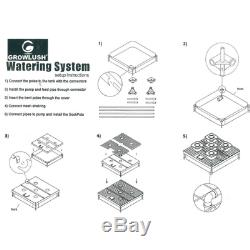4 Plant Hydroponic Drip System Ready To Go Kit + Easy Install