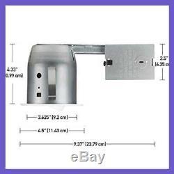 4 Swivel Round Trim Recessed Lighting Kit 20 Pack WHITE Easy Install Pu