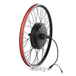 48V 1500W waterproof easy installation ebike kit rear wheel built in controller