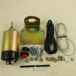 80 lbs Popper System Easy Install Door Popper Kit FOR 2 Door with 2 Remotes