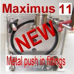 AAA HHO HYDROGEN GEN MAXIMUS 11 PLATE STARTER KIT EASY INSTALL V13 with PWM