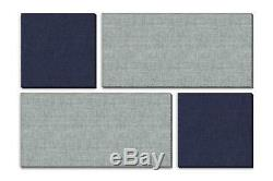 ADW Acoustic Panels 73 X 49 X 1 Mondrian Kit Quick Easy DIY Install Vario