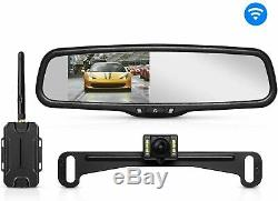 AUTO-VOX T1400 Upgrade Wireless Backup Camera Kit, Easy Installation with No