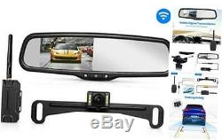 AUTO-VOX T1400 Upgrade Wireless Backup Camera Kit, Easy Installation with No Wir