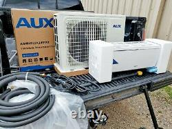 AUX MiniSplit kit R410A Heating and Cooling 115V DIY Easy Install