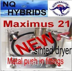 Aaa Hho Maximus Turbo 21 Plate Kit Easy Install V12 Super Sinted Dryer+ Koh