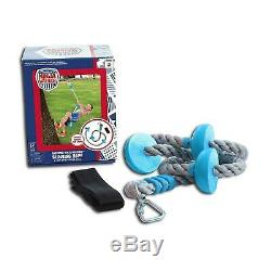 American Ninja Warrior Ninjaline Kit with 11 Obstacles, Easy to Install
