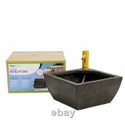 Aquascape Aquatic Patio Pond Fountain Kit, 78197