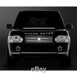 Asanti Mesh Side Fender Vent Grill Grille Range Rover L322 Black Chrome