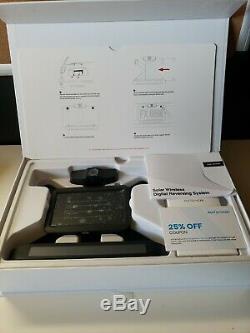 Auto-Vox Solar Wireless Rear View Backup Camera Kit Easy Install No Interference