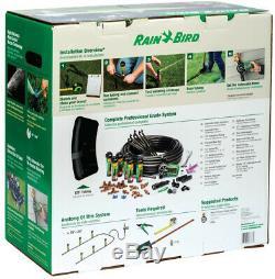 Automatic Underground Yard Lawn Sprinkler System Kit Easy Installation