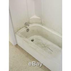 Bathtub Floor Repair Inlay Kit Built in Anti Slip Installation is Easy & Fast