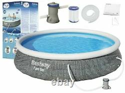 Bestway 13ft x 33 inch Above Ground Inflatable Ring Style swimming pools Kit
