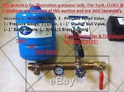 Brass Constant Pressure Manifold Kit for Easy Grundfos SQE Installation