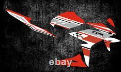CUSTOM GRAPHICS KIT STICKERS MOTOCROSS DECALS FITS FOR HONDA CBR 150R. Yr 11-16