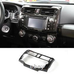 Car Dashboard Center Control Decor Trim Cover Kit For Toyota 4-Runner 2010-2019