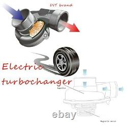 Car Improve Speed Electric Turbo Supercharger Kit easy to install Universal