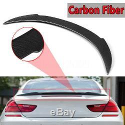 Carbon Fiber V Style Trunk Spoiler For 2012-16 BMW F13 F06 6 Series 640i 650i
