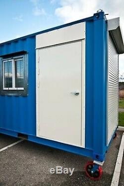 Cargo Container HD Steel Entry Door & Window Kit Easy Install Free Shipping