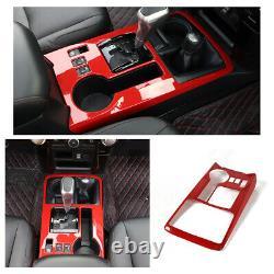 Center Control Interior Accessories Decor Trim Cover Kit For Toyota 4Runner 10+