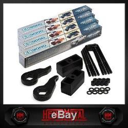 Chevy Silverado GMC Sierra 2500HD 3 Fr + 2 Rr Full Lift Kit + Pro Comp Shocks