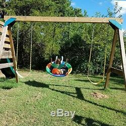 Children&rsquos Tree Swing With Hanging Ropes- 400lb Kit- Easy Installation For