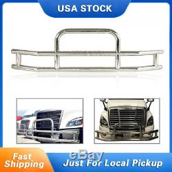 Chrome Stainless Steel Front Bumper Grill Bar Guard FOR Cascadia 2008-2017 USA
