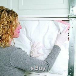 DIY Garage Door Insulation Kit (8-Panels) Fiberglass Easy Install Cooling