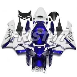 Dark Blue White Bodywork for Honda CBR600RR 2005 2006 Fairings F5 05 06 Body Kit