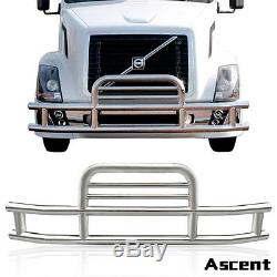 Deer Guard Freightliner Cascadia 08-2017 Grill Bumper Protector Stainless Steel