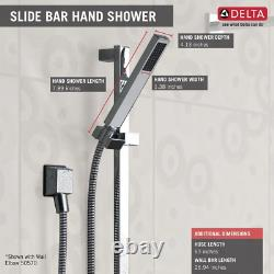 Delta Side Bar Shower Kit Easy to Install Wall Mount Direct to Stud 1-Spray