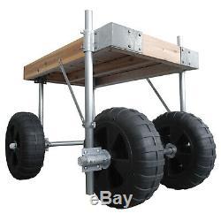 Dock Edge 85-235-F Dock Wheel Axle Kit Conversion Easy Installation No Wheels