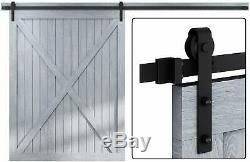 Easelife 12 Ft Heavy Duty Sliding Barn Door Hardware Track Kit Diy Easy Instal