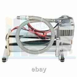 Easy Installation 12V 200 Psi Compressor with 3 Gal Air Tank Kit For Train Horn