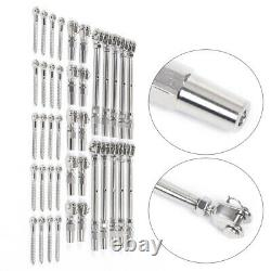 Easy and Quick Installation For 1/8 Cable Railing T316 Stainless Steel Kit 36