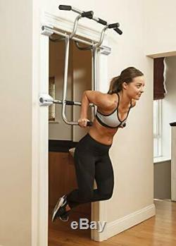 Easy to Install Heavy Duty Doorway Pullup Bar Kit with Extender & Suspension Strap