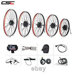 Easy to install Electric bike conversion kit 36V waterproof connector ebike kit