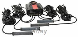EasyPro CAS4 Compact Aeration Series Quad Outlet Complete Pond Aeration Kit